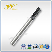 4 Flute Corner Radius with Long Shank Length Carbide Endmill for Steel or Cast Iron Milling