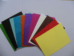 customized various glitter eva foam, eva sheet for school education/handcraft