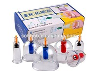 Health care Chinese traditional Vacuum Cupping set kangzhu