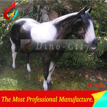 Artificial Outdoor Porcelain Figure of Horse