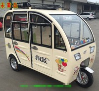 AIRSEC DP017 rickshaw passenger tricycle Electric three wheelers Electric tricycle