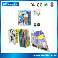 OEM board drawing bulk blank recordable books child books