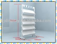 showroom ceramics floor tiles display stand racks