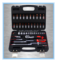 46pcs auto tool set mechanic tool box set