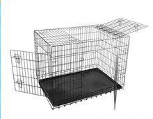 pet dog cage kennel house double door