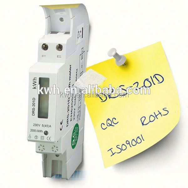 Analog and digital display AC Intelligent Voltage current power meter