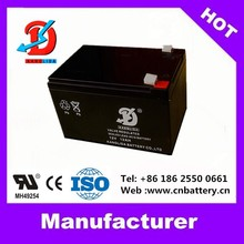 High Quality with CE battery 12v deep cycle battery, VRLA 12v 12ah Chinese batteries