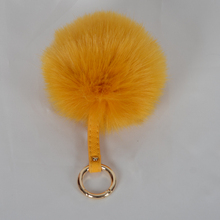 factory wholesale faux fur pom pom ball key chain