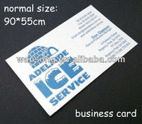 Machine printing custom branded name visiting card ,paper cut decoration greeting card wholesale