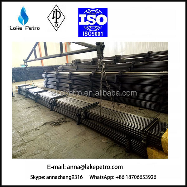 API Spec 11B Steel Rod/sucker rod/Polished Rod oilfield Drilling Equipment made in China