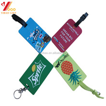 2017 Wholesale cheap luggage tag with personalizedand custom for advertising
