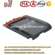 FT-5B16 ceramic clay roof tile blue roof tile clay roof tile from Zhaoqing