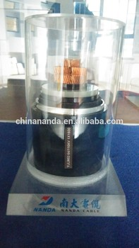 HV power Cable 64/110 kV XLPE Aluminium or Copper conductor