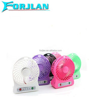 strong wind three grea speed 2200mah lithium battery operated hand fan