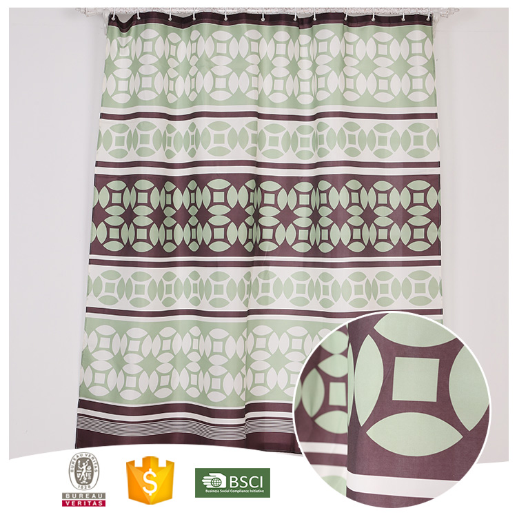 Newest Design Famous Brand China Supplier eva shower curtain