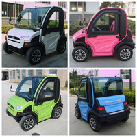 China cheap adult 2 seat 4 wheel smart mini electric car