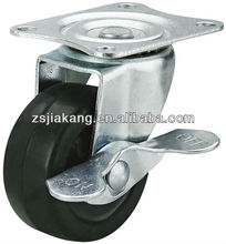 Zhongshan pp small plastic caster wheels from 1.5inch to 3 inch