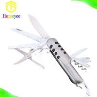 Multi Function Pocket Folding Stainless Steel Knife