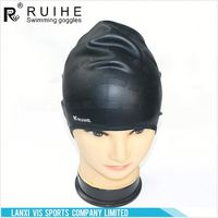 Newest sale different types silicone swimming hat directly sale