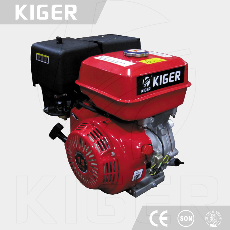 Strong motor 15 HP 190 F Air-cooled Gasoline engine with good torque manufactured by Fujian, China (Mainland)