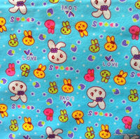 printed cotton flannel duck fabric