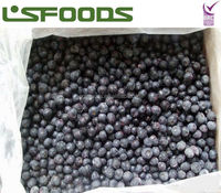 Chinese wholesale IQF Bulk frozen blueberry fruits