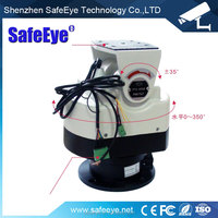 CCTV pan tilt unit/motorized pan tilt Outdoor surveillance PTZ control built-in decoder 485 all-metal pan