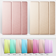 Ultra-thin 3 Fold Stand Flip Smart Cover Protector PU Leather Tablets Case for iPad 2 3 4
