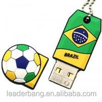 2016Hot sell world cup brazil 2016 usb flash drive