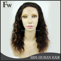 2014 Best selling glueless silk top lace front wig