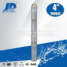 QJ series deep well certrifugal water submersible pump stainless steel submersible pumps