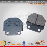Factory Price 2016 New Factory Customized Chinese Brake Pad For Motorcycle