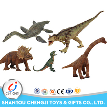 Promotional cheap educational simulation mini dinosaur toys set