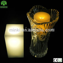 Square LED Candle Light/ Flameless Candle/ Decoration Candle for Home Decoration