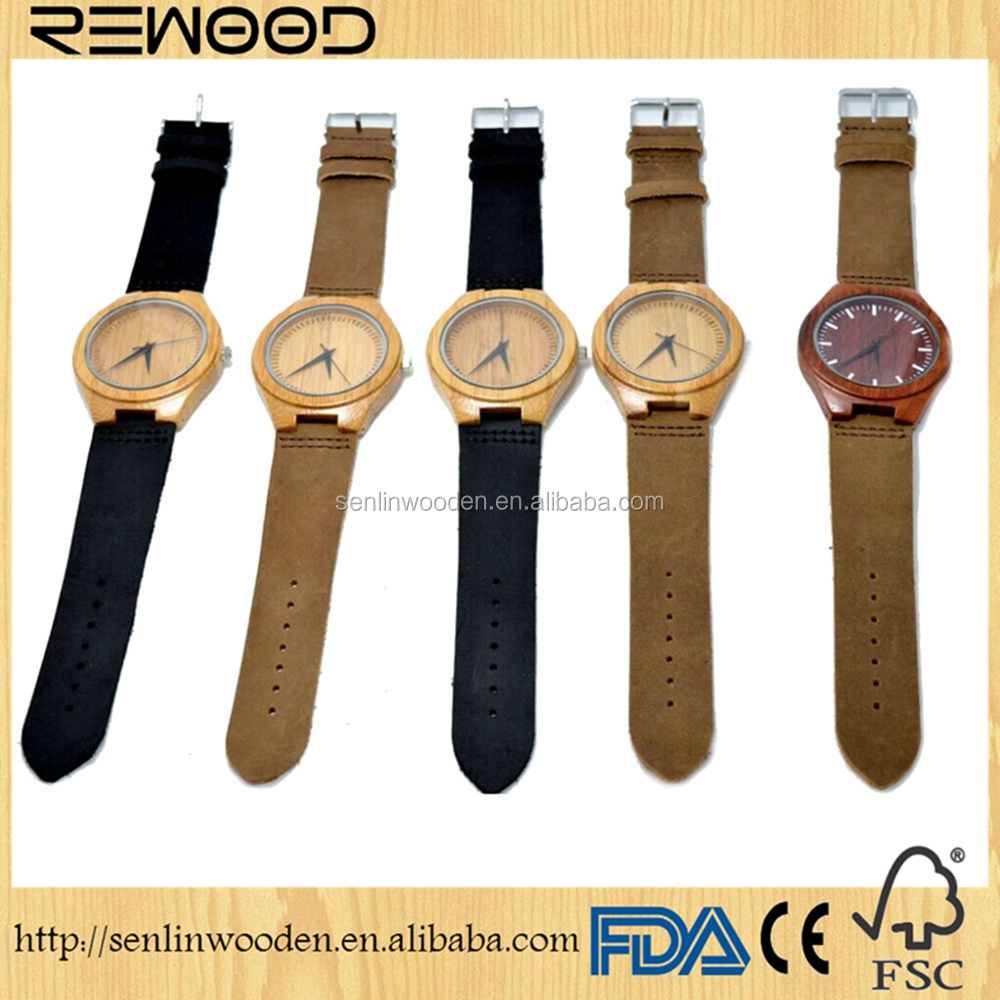 2016 fashion unisex Wholesale price wood watch with japan quartz movt, wooden watches custom logo