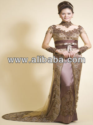 Kebaya Modern Sweet Brown