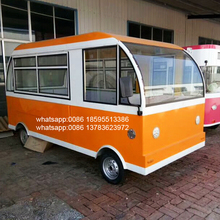 High quality China made hot sale mobile hot dog/ice cream /juice japanese momo food trailer in zhengzhou