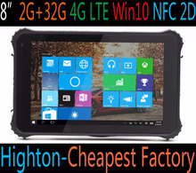 8 inch wind 10 capacitive screen cheap ip67 Rugged Tablet pc