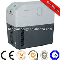 30L portable temperature showing solar refrigerator freezer for water