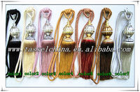 Wholesale metal curtain tiebacks for curtain fasten decoration, curtain accessories made in China