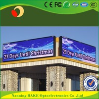 P10 outdoor fixed advertising led display double sided digital signage