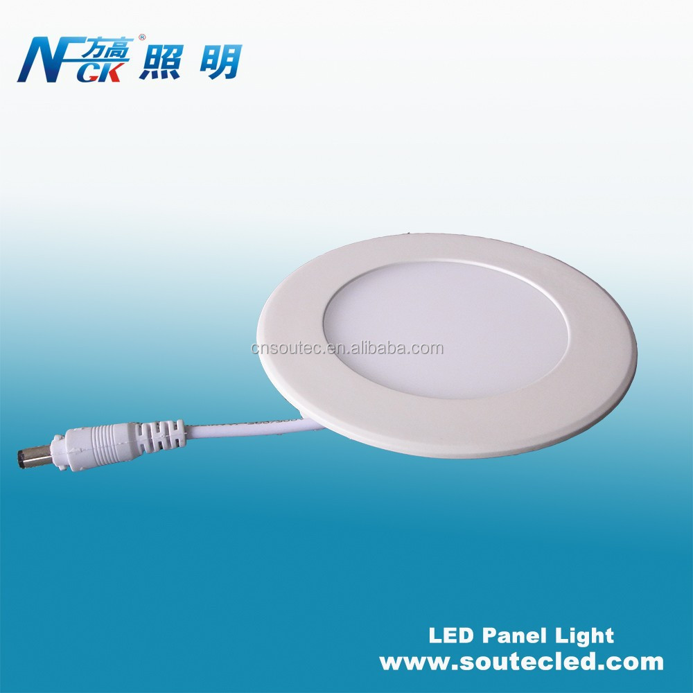 Indoor MINI 4W flat panel led lighting aluminum AC220V input voltage household led ceiling lighting panel