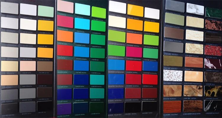 composite panel aluminum for wall decorative cladding
