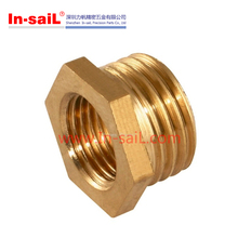 Hardware supplier ODM&OEM service brass nylon PVC metric reducing bushing for pipe fitting
