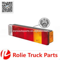 DAF 1284211 LH heavy duty truck spare parts LED rear light high quality auto spare parts tail lamp