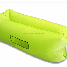 Fast Inflating air Sofa Sleeping air bag Inflatable Lounger Chair for outdoor