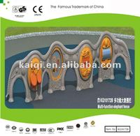 New Designed Multi-function Elephant Fence LLDPE plastic with the Drum, Turntable, Piano and Distorting Mirror