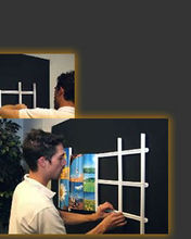 Modular Photo Framing System Designed For Photos, Art, Scrapbooking And More