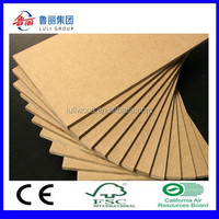 Plain MDF board bare MDF Medium Density Fibre Board