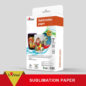 specialized suppliers dye sublimation photo paper/subliming thermal press sublimation paper